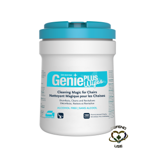 GERMIPHENE  Cleaners & Disinfectants - Genie Plus Chair Cleaner, 160 Count Container Size: 4 L - 1