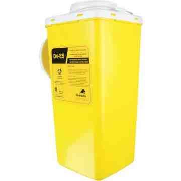 Biomedical Sharps Disposal Internal Container, Capacity: 4 L