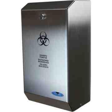 Biomedical Sharps Disposal Unit, Capacity: 4 L