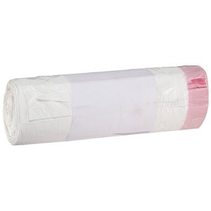 """Sanitary Liner, 3 gal, 16-1/2"""" W x 6-1/10"""" D x 19-3/10"""" H, White (Pack of 1250)"""