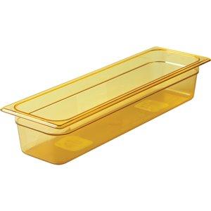 "RUBBERMAID,Half-Sized Long Hot Food Pan,Capacity: 5.5 qt.,Depth: 4"""