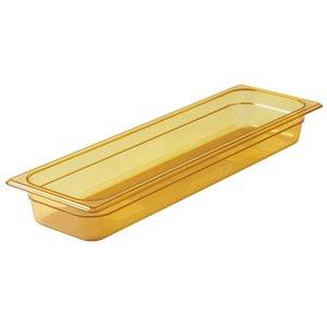 "RUBBERMAID,Half-Sized Long Hot Food Pan,Capacity: 3.625 qt.,Depth: 2-1/2"""