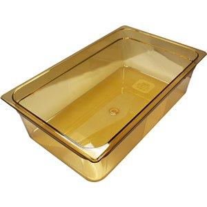 "RUBBERMAID,Full-Sized Hot Food Pan,Capacity: 20.625 qt.,Depth: 6"""
