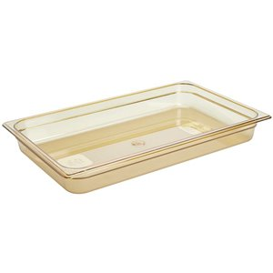 "RUBBERMAID,Full-Sized Hot Food Pan,Capacity: 13.75 qt.,Depth: 4"""