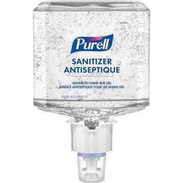 PURELL  ES6 Advanced Hand Sanitizer Gel, 1200 ml, Cartridge Refill, 70% Alcohol - 1