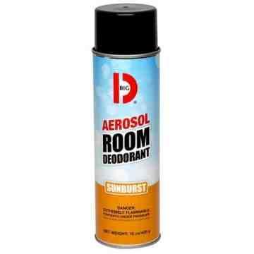 Room Deodorant, Aerosol, 15oz, Case of 12, Sunburst - 1