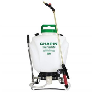 CHAPIN, Backpack Sprayer, Tree/Turf Pro Commercial Brass Wand, 4G, Price Per Each