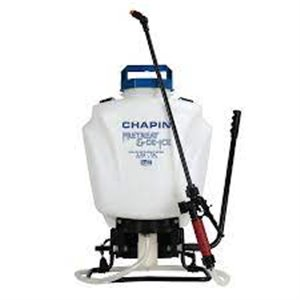 CHAPIN, Backpack Sprayer, Pre-Treat & Ice Melt Poly Sprayer, 4G, Price Per Each
