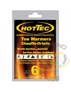 HOTTEC™ Adhesive Toe Warmers, 6 Hour - 1