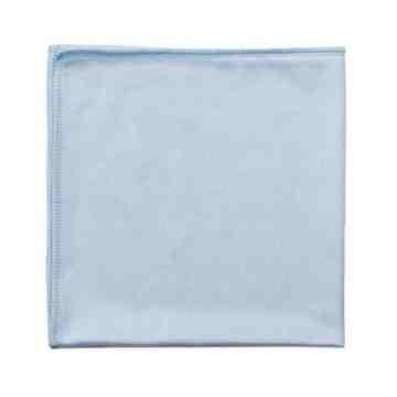"""Microfiber Cloth - 16x16"""" Glass/Mirror - Blue 200 Per Pack, Price Per PK"""