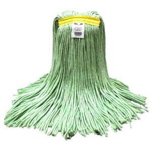 Mop - Cut End Eco-Pro Recycled Material 24oz - Green 12 Per Pack, Price Per CS