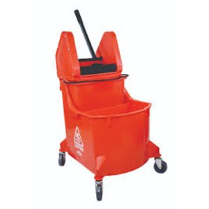 Mopping Combo - Downpress Combo 35qt w/Red Dirty Water Bucket - Red 1 Per Pack, Price Per EA