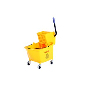 Mopping Combo - Sidepress 35qt Combo - Yellow 1 Per Pack, Price Per EA