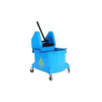 Mopping Combo - Downpress Bucket/Wringer 35qt - Blue 1 Per Pack, Price Per EA