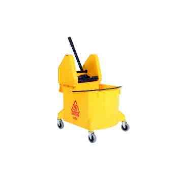 Mopping Combo - Downpress Bucket/Wringer 35qt - Yellow 1 Per Pack, Price Per EA
