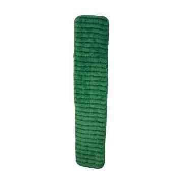 """Microfiber Dry Pad 12"""" - Green 10 Per Pack, Price Per PK"""