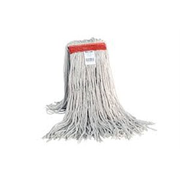 Wet Mop - Cotton Cut End 24oz - White 12 Per Pack, Price Per EA