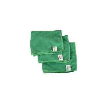"""Microfiber Cloth - 16x16"""" - Green 10 Per Pack, Price Per PK"""