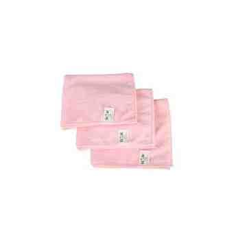 "Microfiber Cloth - 16x16"" - Pink 10 Per Pack, Price Per PK"