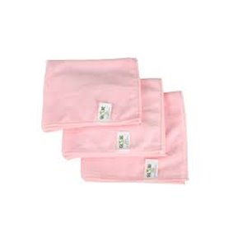 "Microfiber Cloth - 14x14"" - Pink 10 Per Pack, Price Per PK"