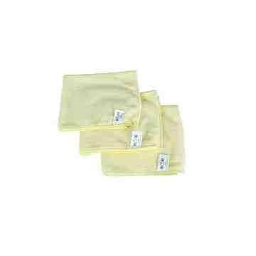 """Microfiber Cloth - 14x14"""" - Yellow 10 Per Pack, Price Per PK"""