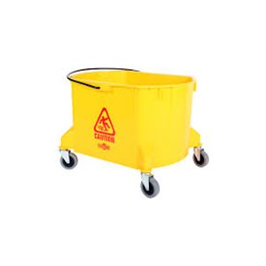 Bucket Only 35qt - Yellow 1 Per Pack, Price Per EA