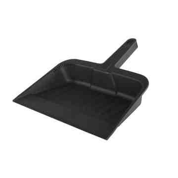 """Dust Pan 12"""" - Black 12 Per Pack, Price Per EA"""
