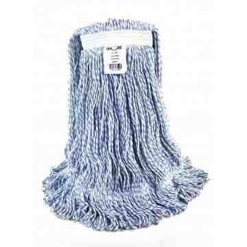 Finish Mop - Wax-Pro Candy Stripe - Medium 12 Per Pack, Price Per CS