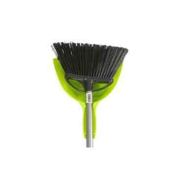 """Broom - Extra Wide Angle 13"""" w/E-Z Clean Dustpan 8 Per Pack, Price Per EA"""