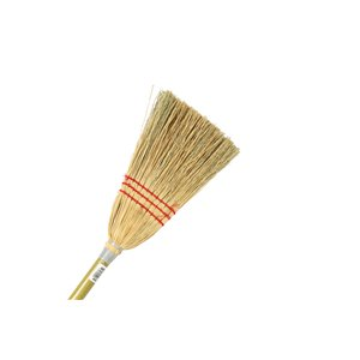 Corn Broom - Lobby 3 String 12 Per Pack, Price Per EA