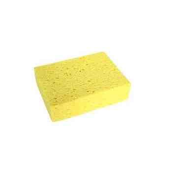 "Cellulose Sponge - 6x4x1.75"" Bulk - Yellow 50 Per Pack, Price Per CS"