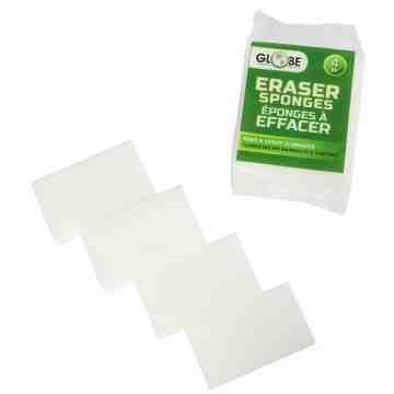 "Erase-it-Sponge Small 4.75x2.375x1"" [2/pk/24pk/cs] - White 48 Per Pack, Price Per CS"