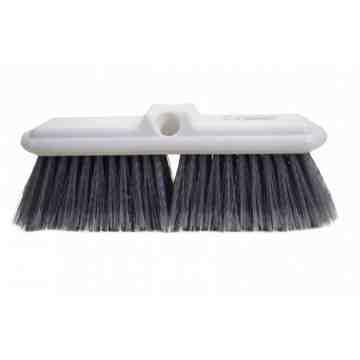 """Brush - 10"""" Acid Resistant w/Bumper - Grey Fiber 6 Per Pack, Price Per EA"""