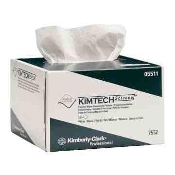 Kimtech Precision Wipes, 4.5' x 8.5', 1 Ply, 280/Box