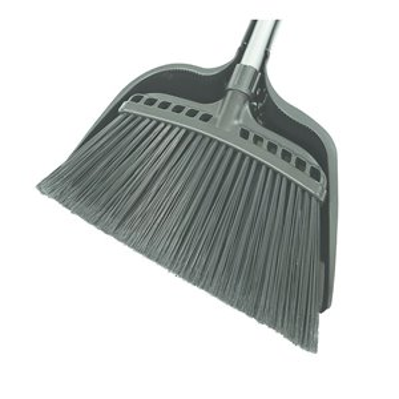 "Jumbo 16"" Commercial Angle Broom w/Dustpan 12 Per Pack, Price Per EA"