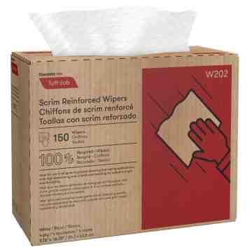 Tuff-Job™ Scrim Reinforced Wipers, 150/Box