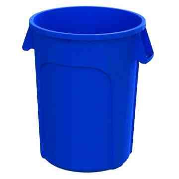 Waste Container Round 20G - Blue 6 Per Pack, Price Per EA