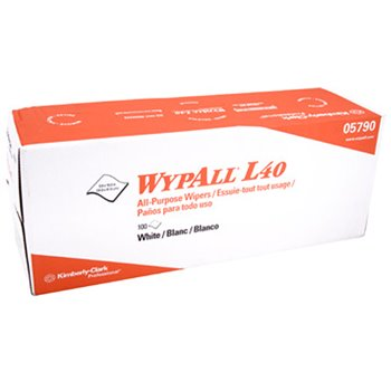 Wypall* L40 Wipers, 100/Box
