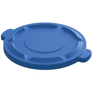 Lid Fits 20G Round Container - Blue 6 Per Pack, Price Per EA