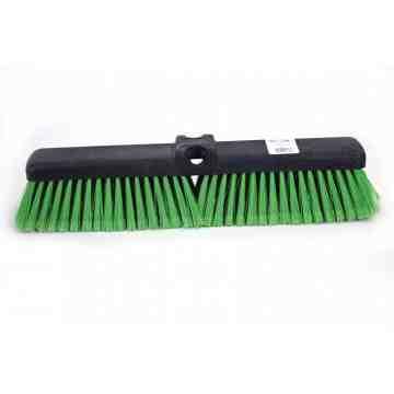 "Pushbroom - Medium 18"" - Green 6 Per Pack, Price Per EA"
