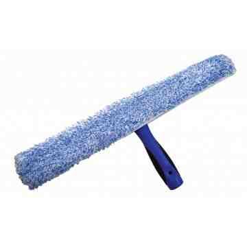 "Window Washing - T-Bar & Microfiber Sleeve Combo 18"" - Blue 10 Per Pack, Price Per CS"