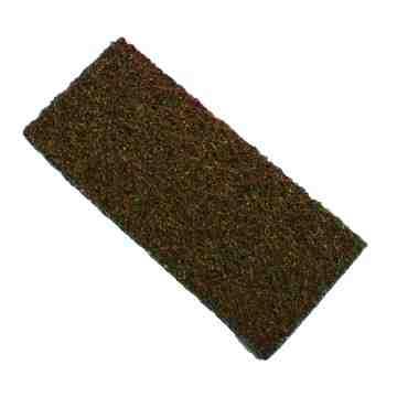 Heavy Duty Utility Pad - Brown 25 Per Pack, Price Per CS