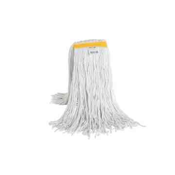 Wet Mop - Cotton Cut End 20oz - White 12 Per Pack, Price Per EA
