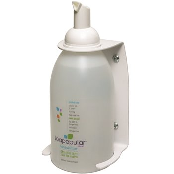 550 mL Anti-Bacterial Hand Sanitizer Wall Bracket, 6/Case, Sold By Case
