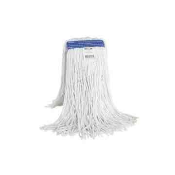Wet Mop - Synthetic Cut End NB 12oz - White 12 Per Pack, Price Per EA