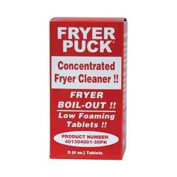 Fryer Puck - Deep Fat Fryer Cleaner Tabs [5x6] 6 Per CS