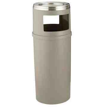 Ash/Trash Container w/o Doors 15G - Beige, 1/EA