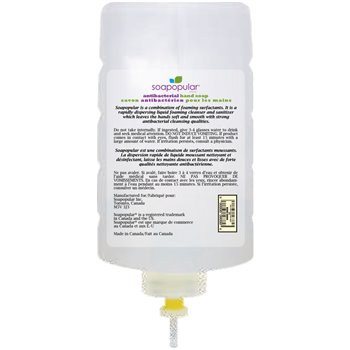 Triclosan-Free Antibacterial 1L Cartridge, 6/Case, Sold by Case