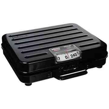 Briefcase Receiving Scale 250 lbs 1lb, 2/EA