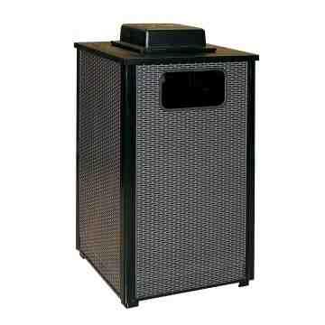 Aspen - Ash/Trash Waste Receptacle w/Weather Urn 24G ,  1 / EA